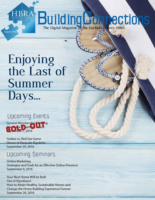 August 2016 Newsletter cover